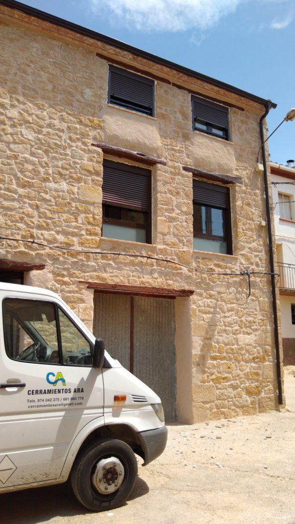 Rehabilitacion de Vivienda en Cretas ( Teruel )